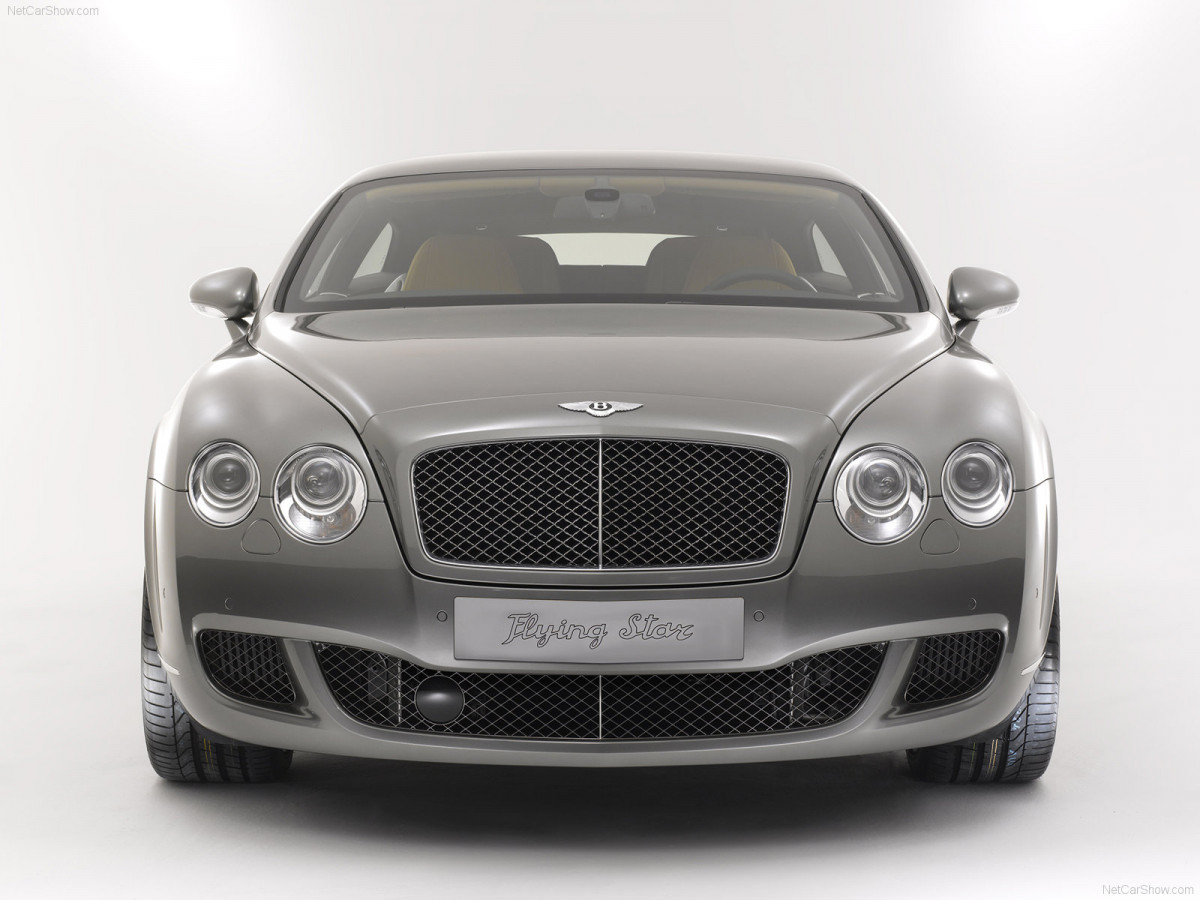 Bentley Continental Flying Star фото 75466