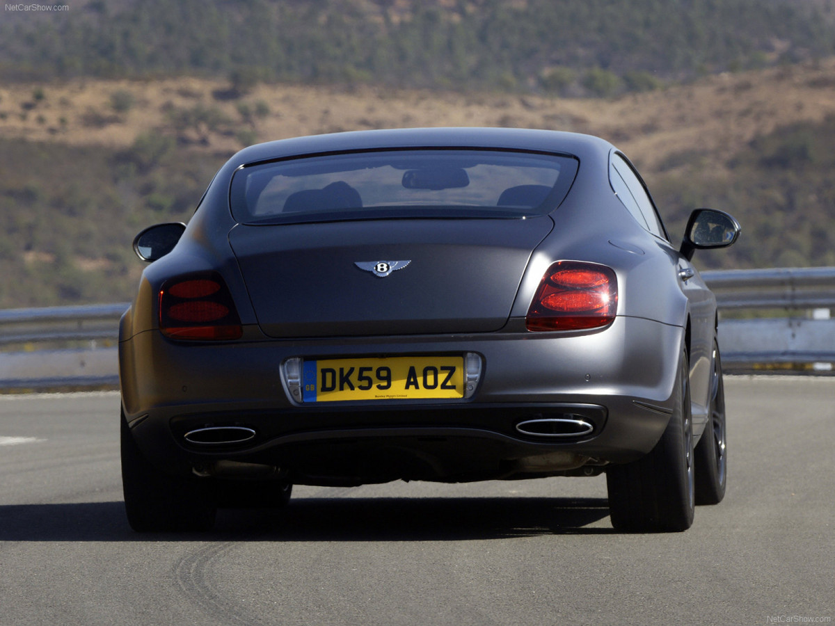 Bentley Continental Supersports фото 75624