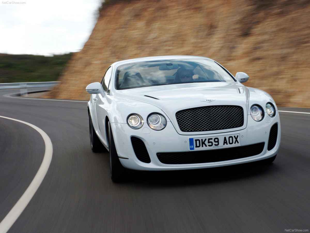 Bentley Continental Supersports фото 75631