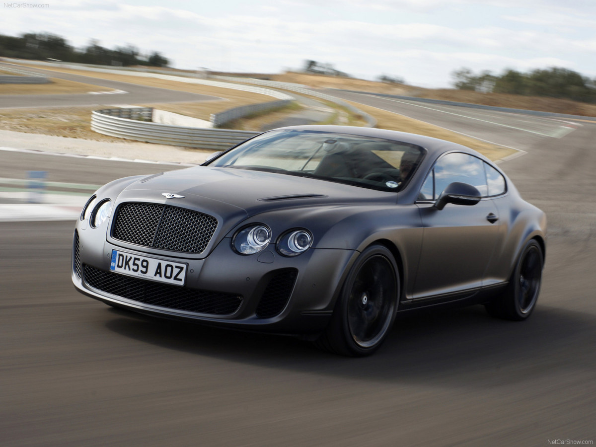 Bentley Continental Supersports фото 75636