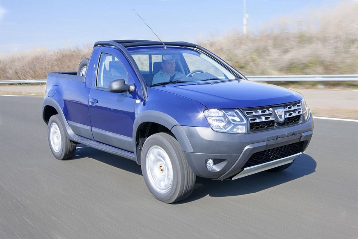 Dacia Duster Pick-Up фото 135839