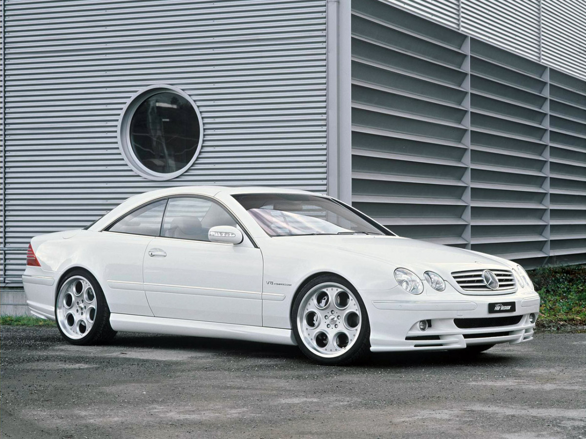 FAB Design Mercedes CL фото 26852