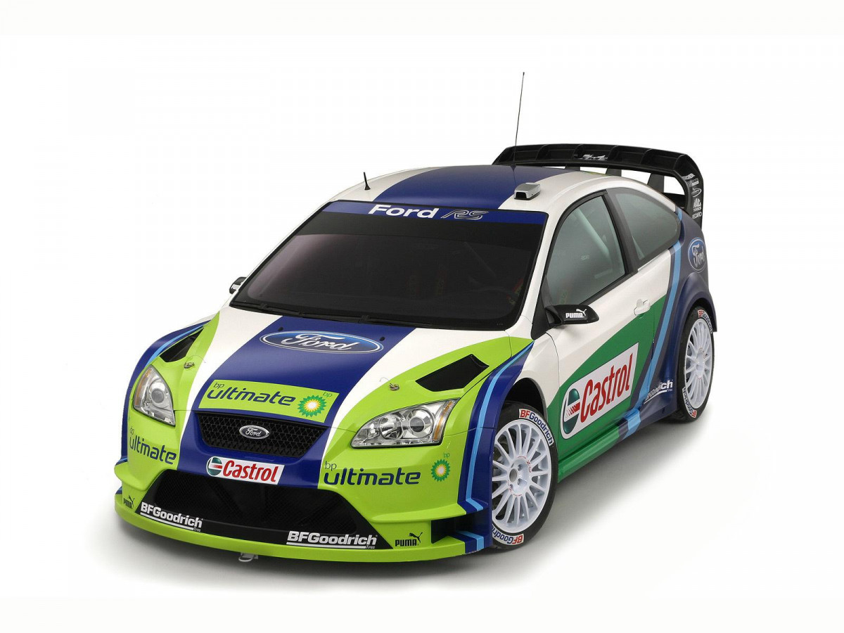 Ford Focus RS WRC фото 32200