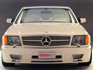 Gemballa Mercedes-Benz 500SEC Widebody (C126) фото