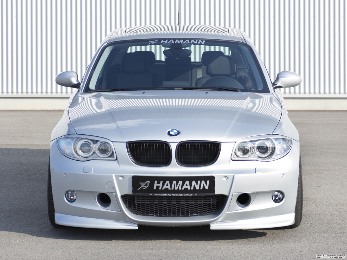 Hamann BMW 1 Series 5-door (E87) фото 60592