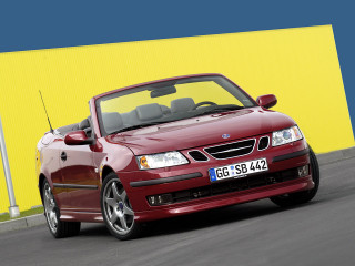 Hirsch Performance Saab 9-3 Convertible Aero фото