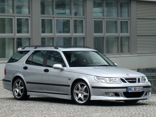 Hirsch Performance Saab 9-5 Wagon Aero фото