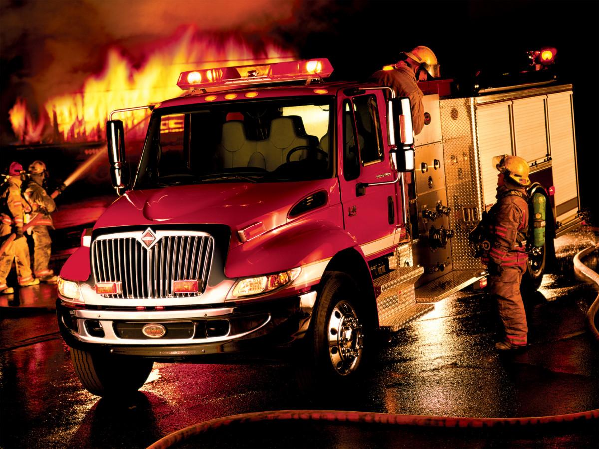 Красивые фото пожарных машин