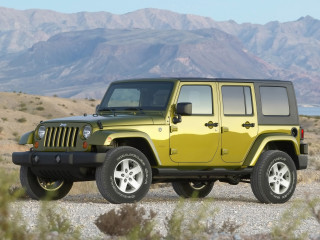 Jeep Wrangler Unlimited фото