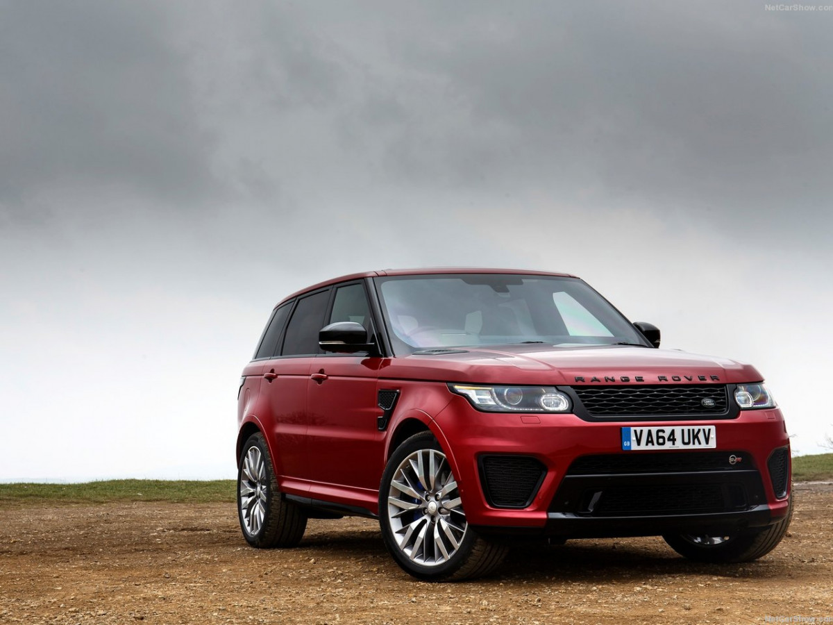 Land Rover Range Rover Sport SVR фото 144250