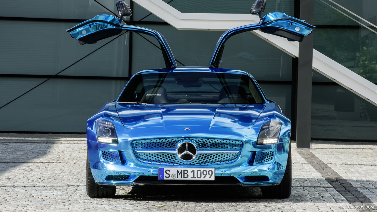 Mercedes-Benz SLS AMG Coupe Electric Drive фото 113687
