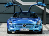 Mercedes-Benz SLS AMG Coupe Electric Drive фото