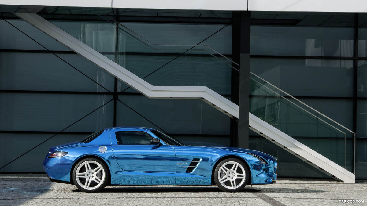 Mercedes-Benz SLS AMG Coupe Electric Drive фото 113689