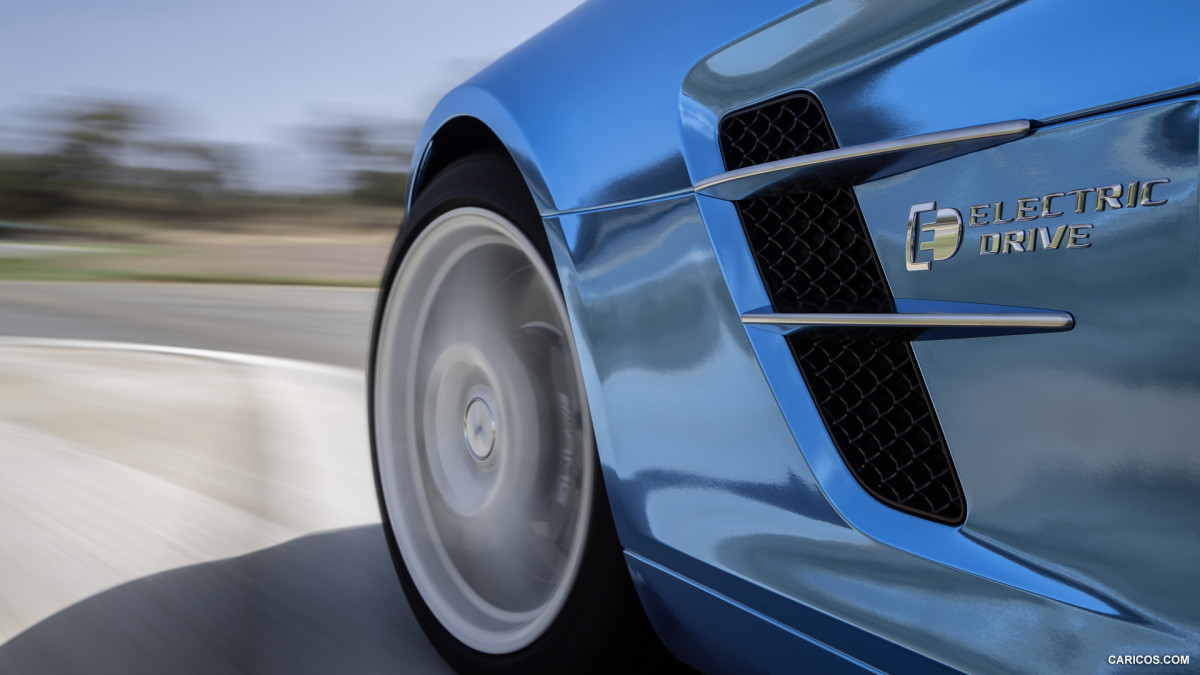 Mercedes-Benz SLS AMG Coupe Electric Drive фото 113696