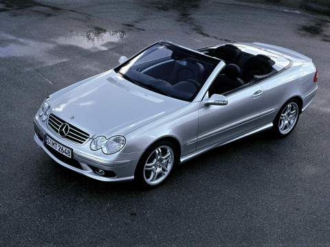 Mercedes-Benz CLK фото