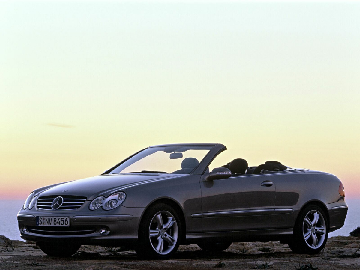 Mercedes-Benz CLK фото 11087