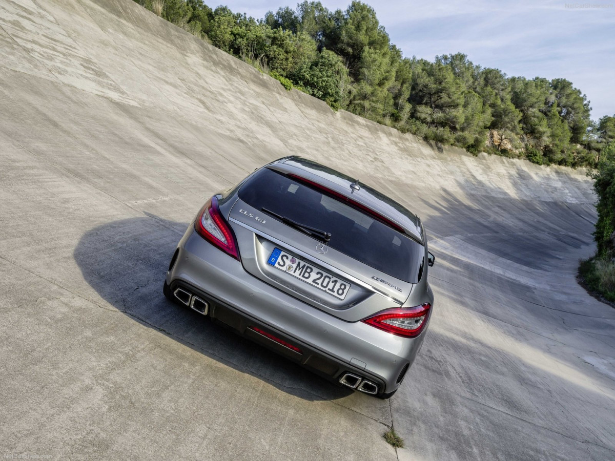 Mercedes-Benz CLS63 AMG Shooting Brake фото 131033
