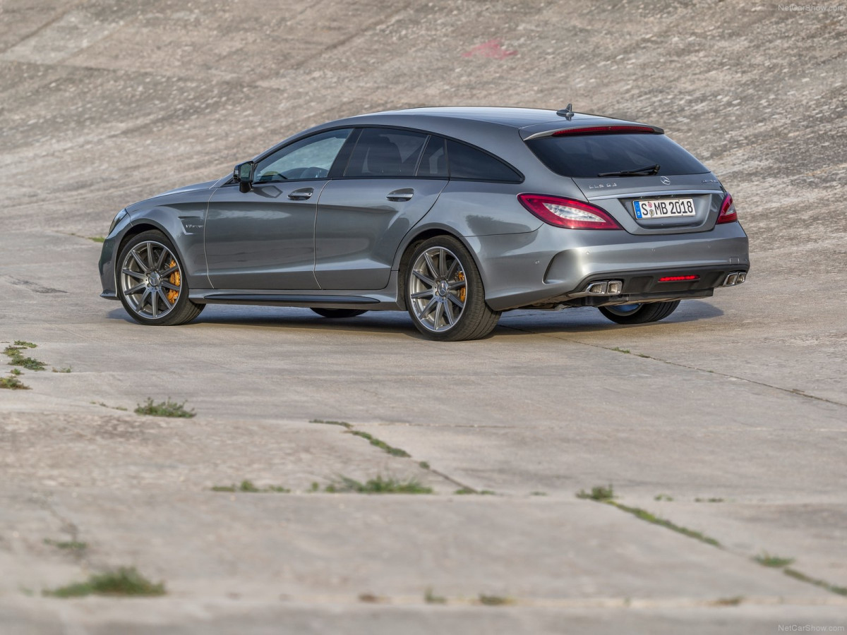 Mercedes-Benz CLS63 AMG Shooting Brake фото 131041