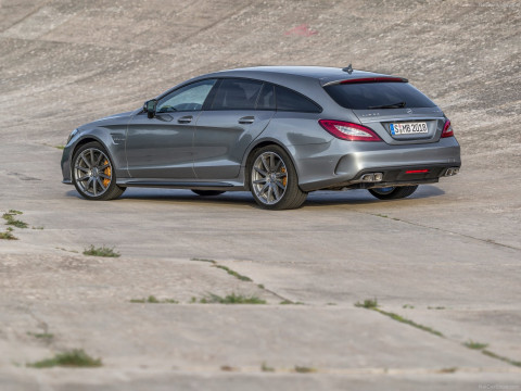 Mercedes-Benz CLS63 AMG Shooting Brake фото