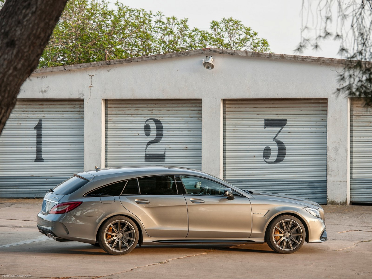 Mercedes-Benz CLS63 AMG Shooting Brake фото 131043