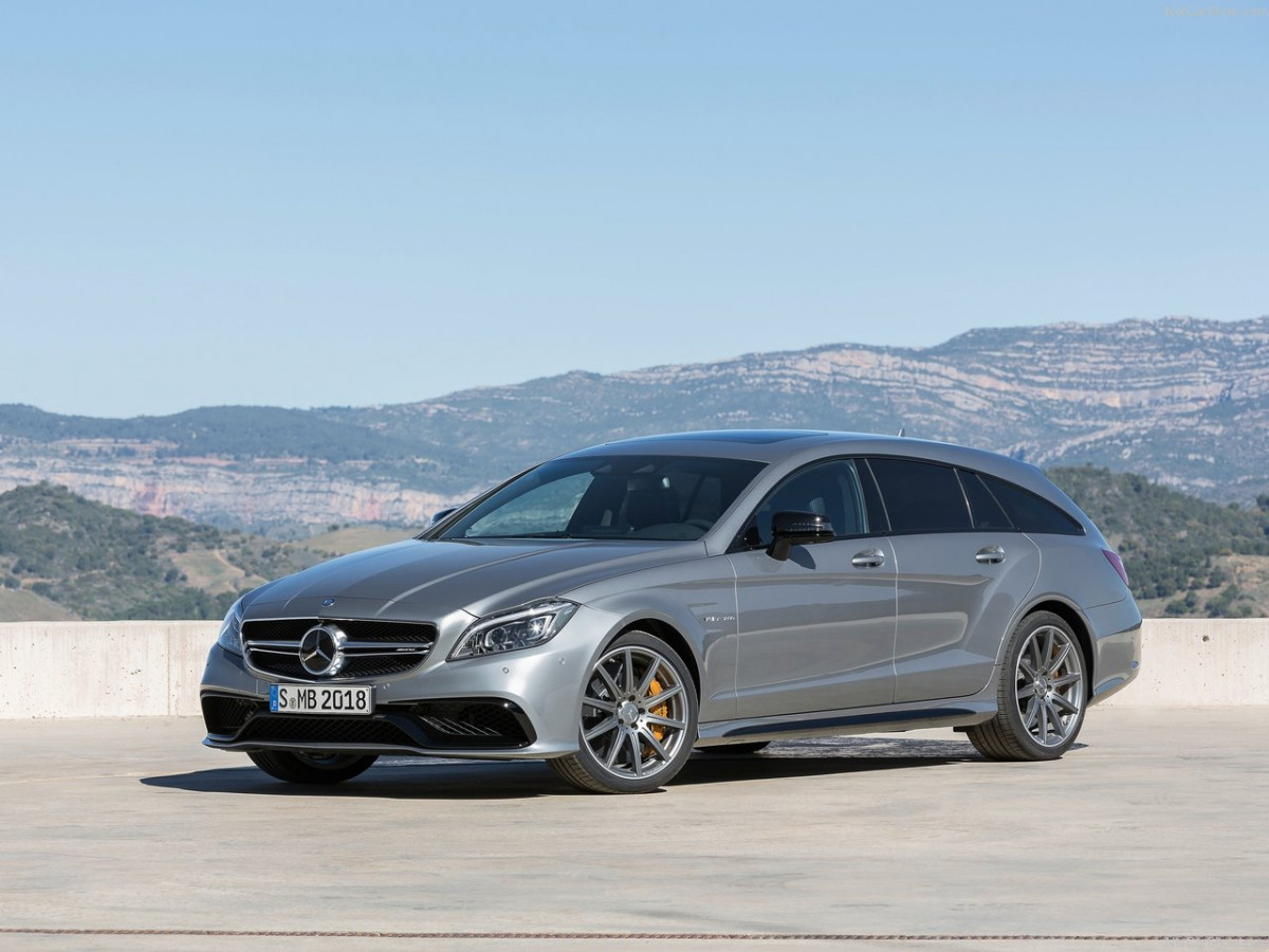 Mercedes-Benz CLS63 AMG Shooting Brake фото 131061