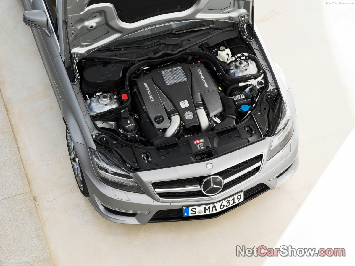 Mercedes-Benz CLS63 AMG Shooting Brake фото 96934