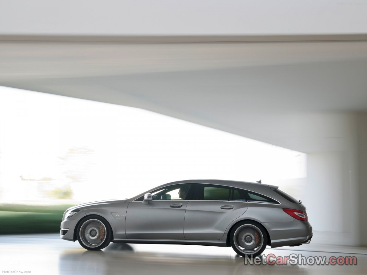 Mercedes-Benz CLS63 AMG Shooting Brake фото 96936