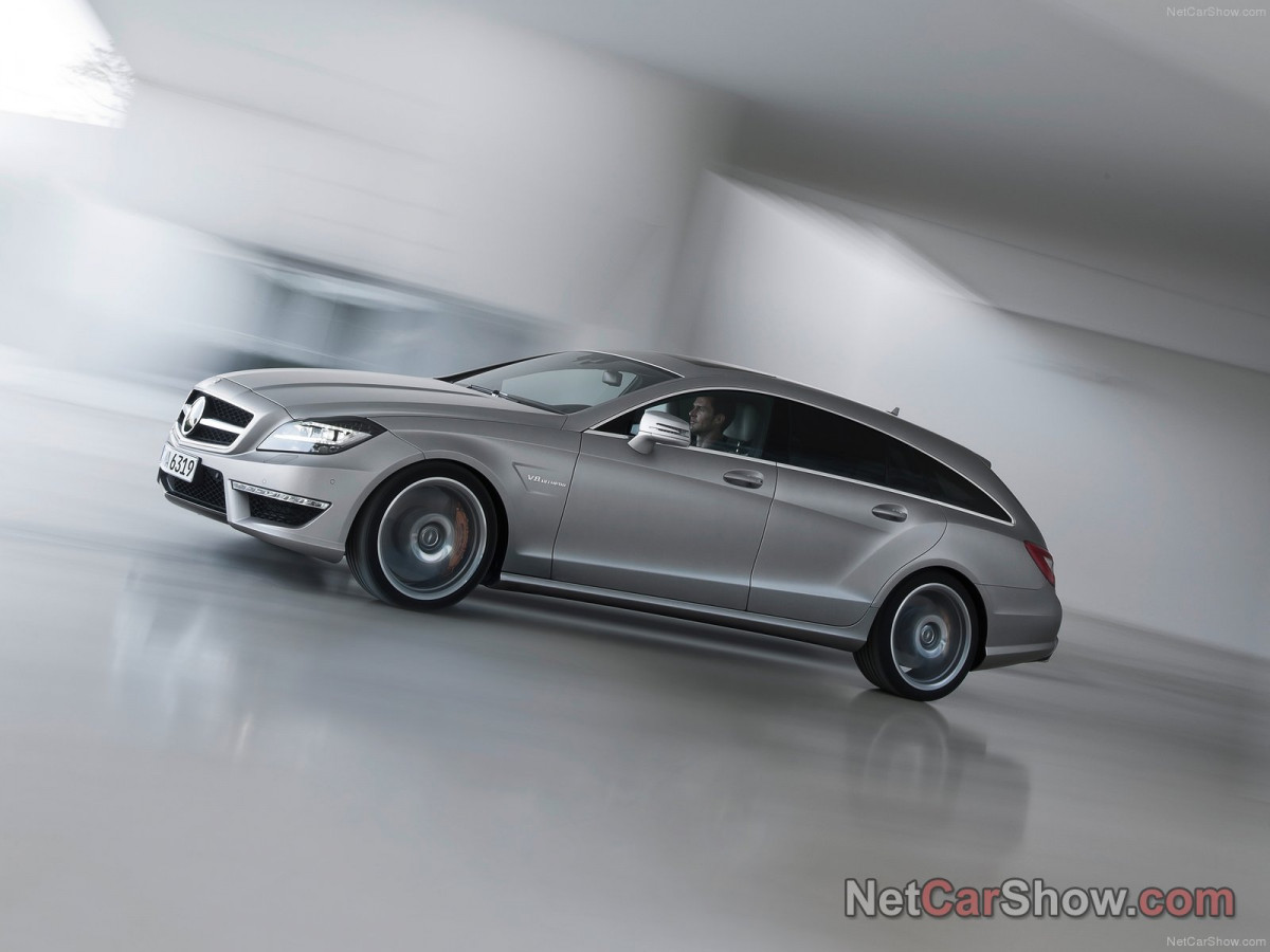Mercedes-Benz CLS63 AMG Shooting Brake фото 96937