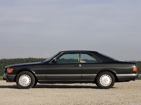 Mercedes-Benz S-Class Coupe C126 фото