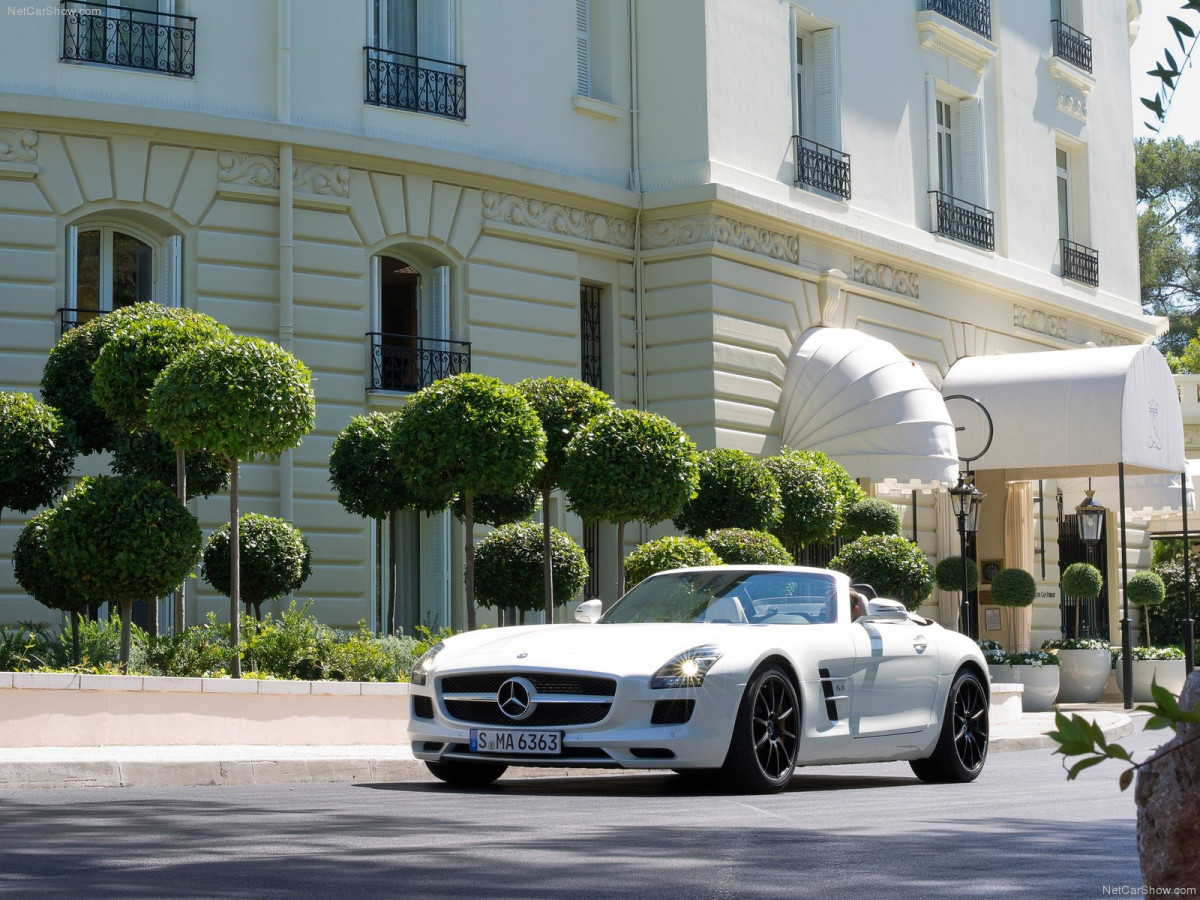 Mercedes-Benz SLS AMG Roadster фото 87983