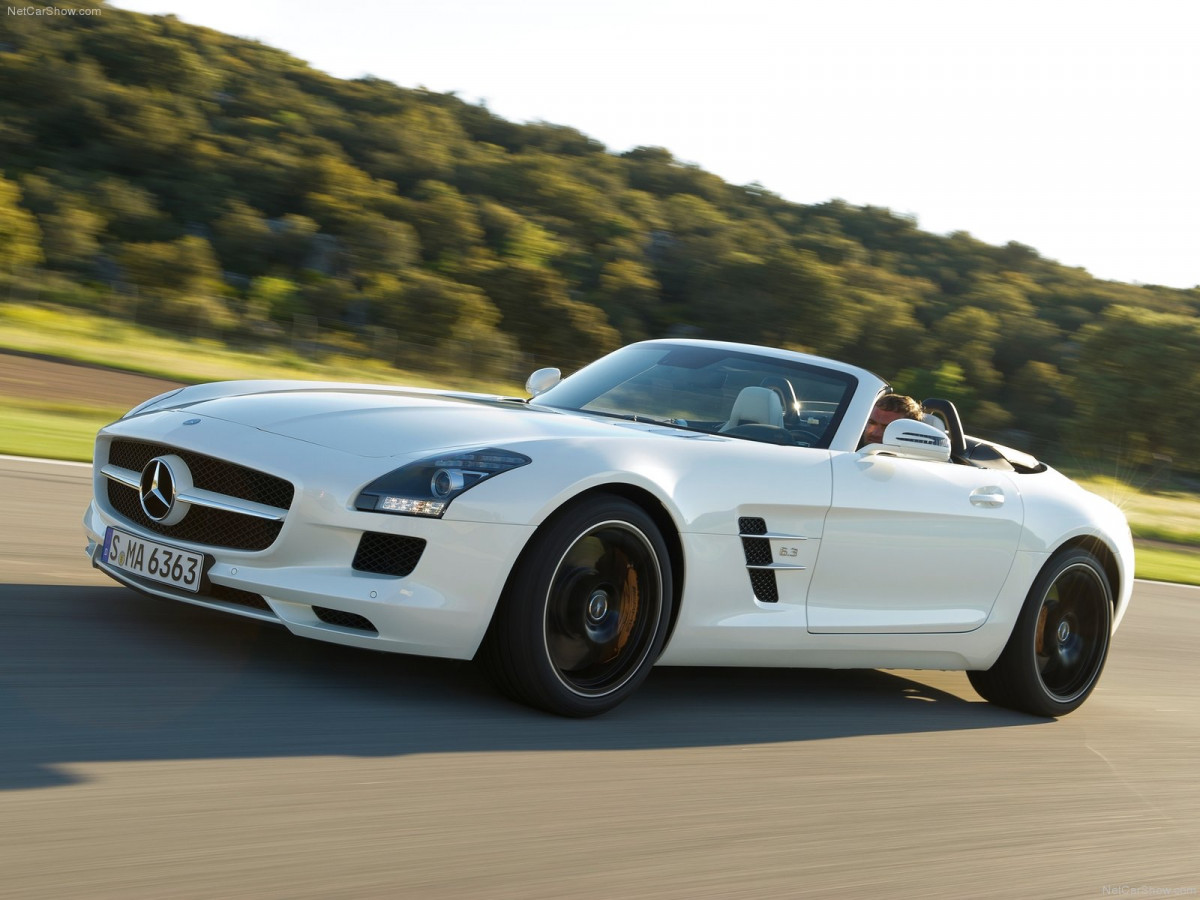 Mercedes-Benz SLS AMG Roadster фото 87986