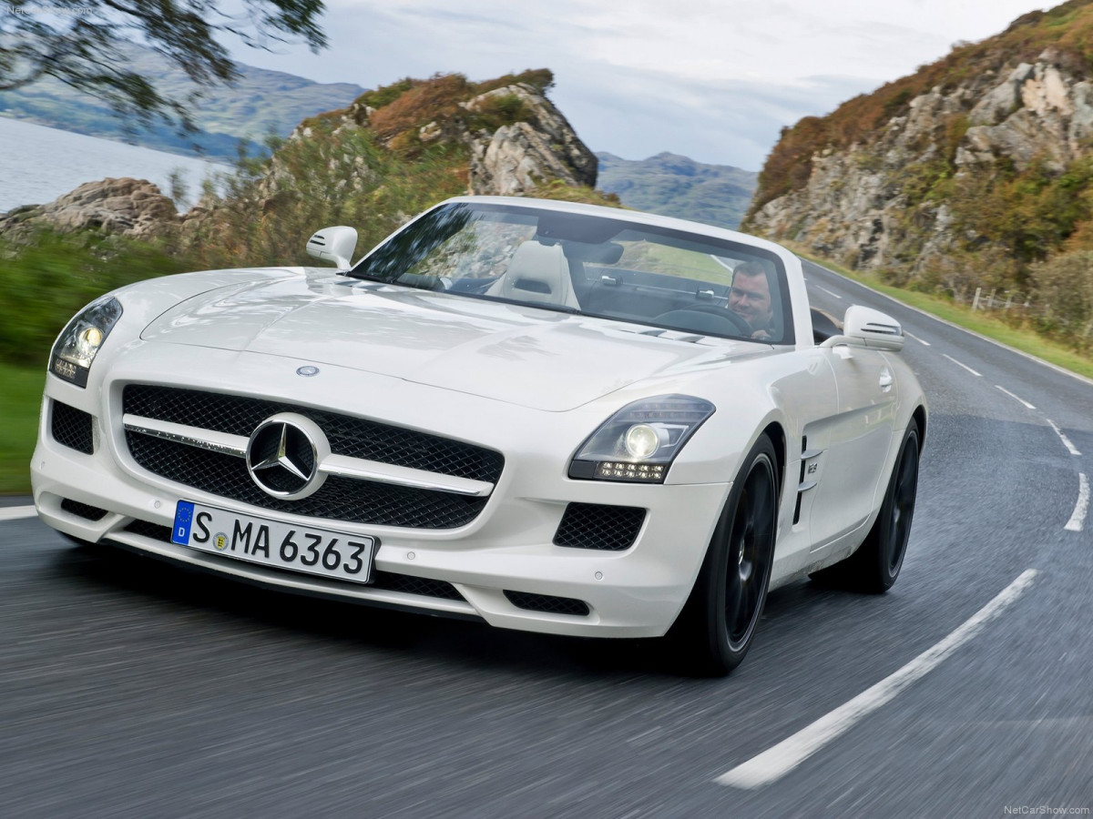 Mercedes-Benz SLS AMG Roadster фото 87999
