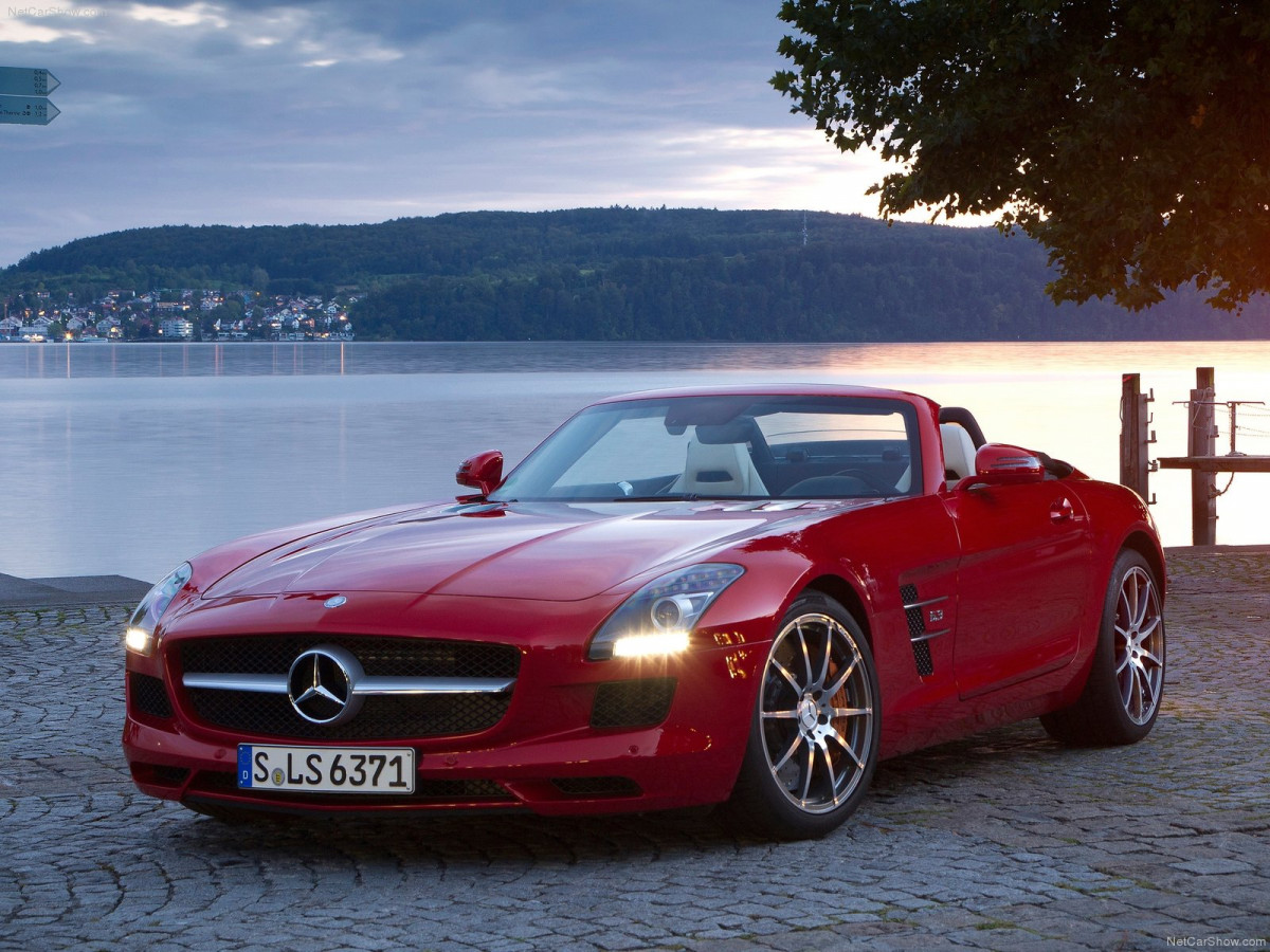 Mercedes-Benz SLS AMG Roadster фото 88000