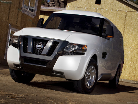 Nissan NV2500 Concept фото
