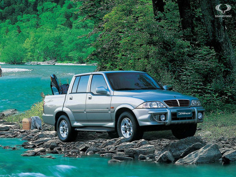 SsangYong Musso Sports фото