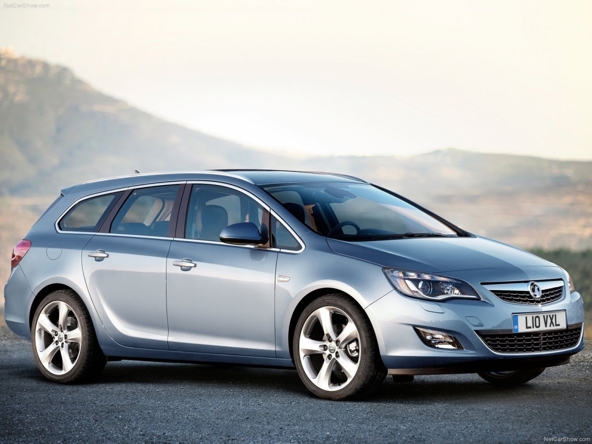 Vauxhall Astra Sports Tourer фото 77257