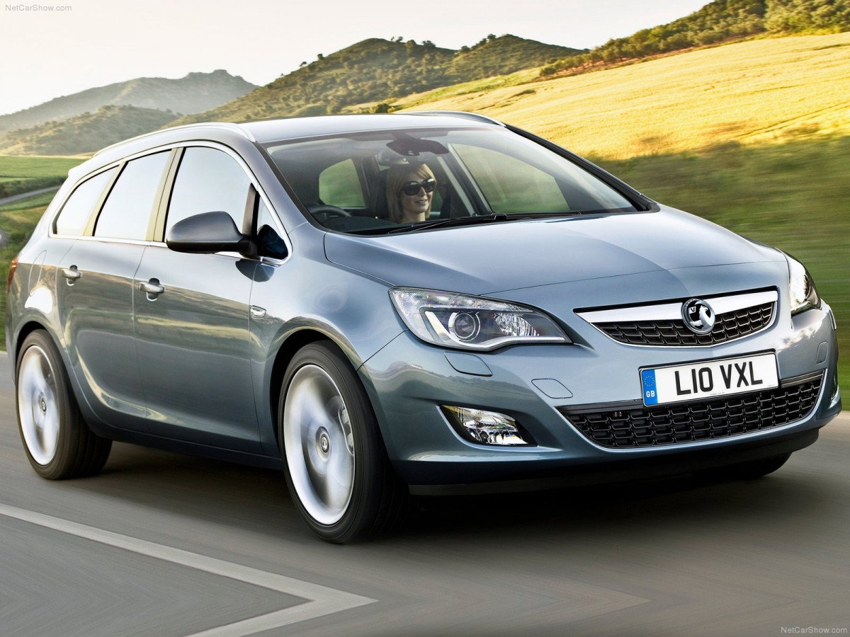 Vauxhall Astra Sports Tourer фото 77259
