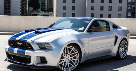 Ford: знаменитый Mustang GT 2013 из фильма Need for Speed был продан за $300 000