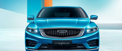 Бизнеc седан Preface от Geely