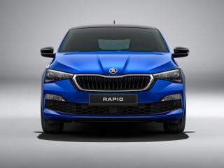 Компания Skoda представила новый Rapid