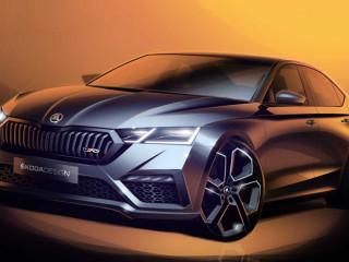 Обновленная Skoda Octavia будет представлена на автосалоне в Женеве.