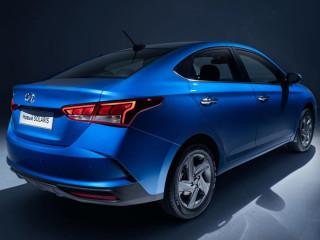 Представлены первые официальные фото обновленного Hyundai Solaris
