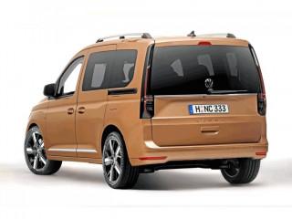 Первые официальные фото Volkswagen Caddy