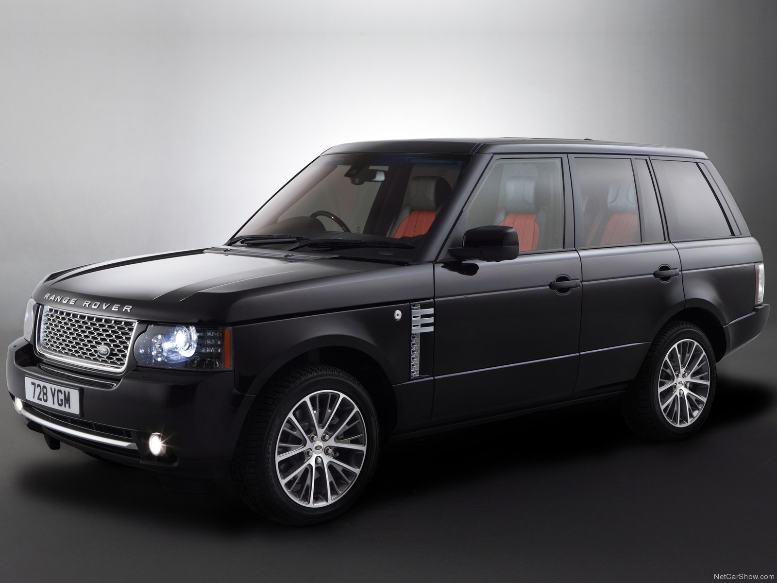 Обои black matte, range rover. Автомобили foto 12