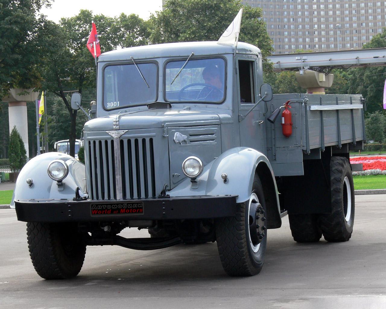 Фото старых моделей грузовиков маз