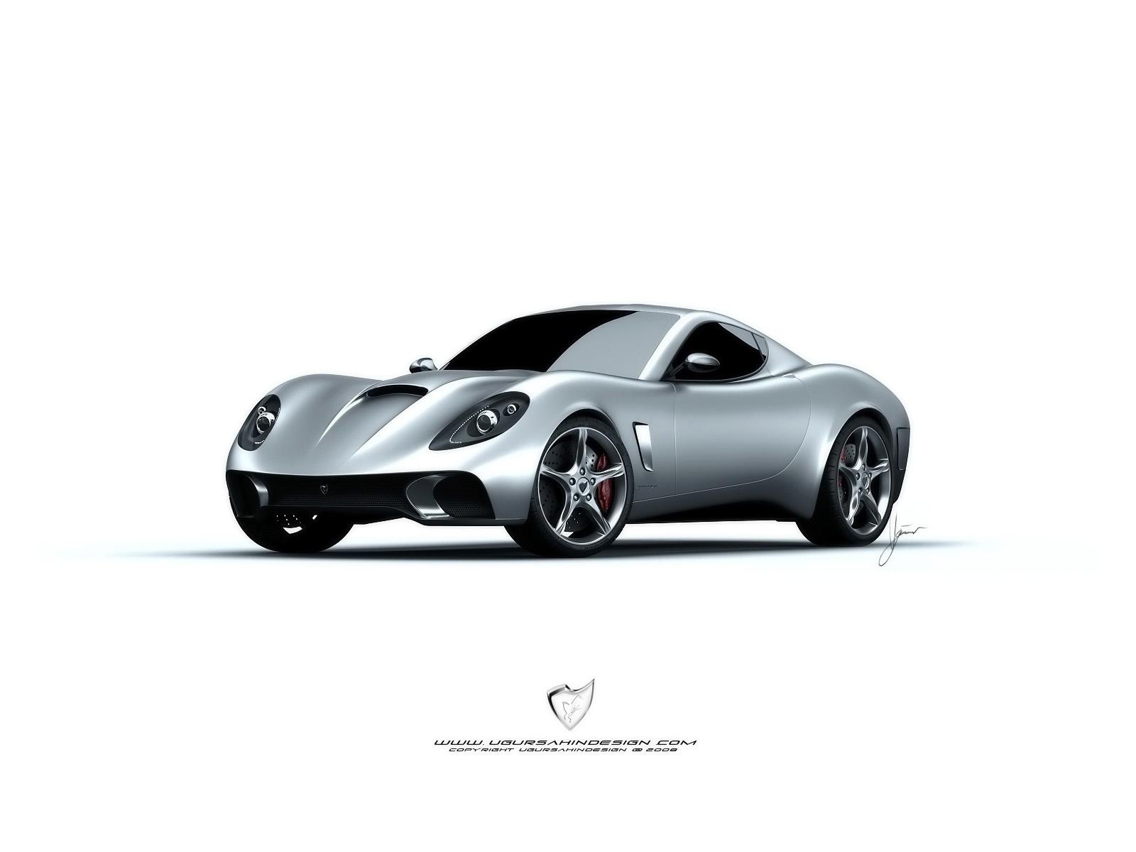 Анимированная картинка автомобиль