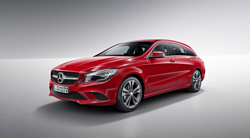 Европейцы узнали стоимость Mercedes-Benz CLA Shooting Brake