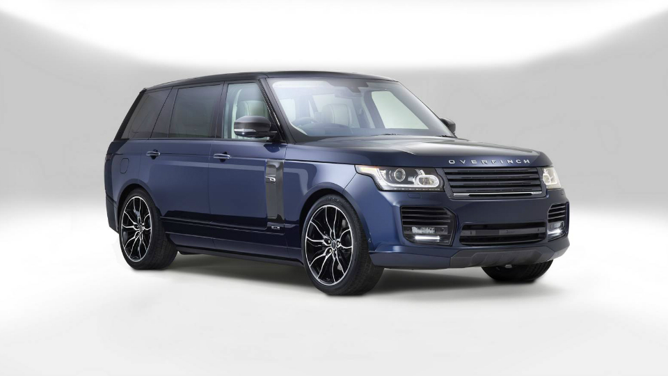 Range Rover за $320 000 – новая игрушка от Overfinch