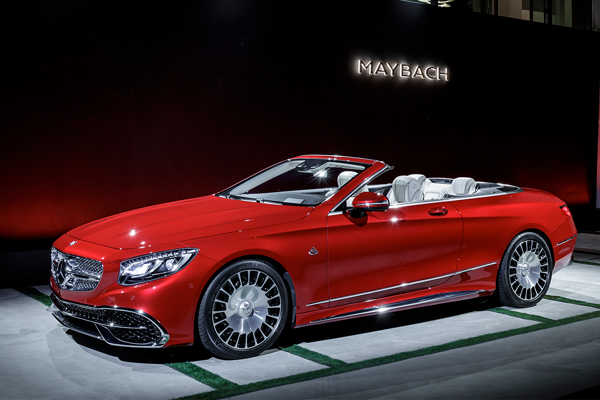 Дебютировал наиболее дорогостоящий кабриолет Mercedes-Maybach