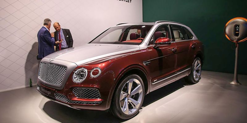 Bentley Bentayga Hybrid представлен в Женеве